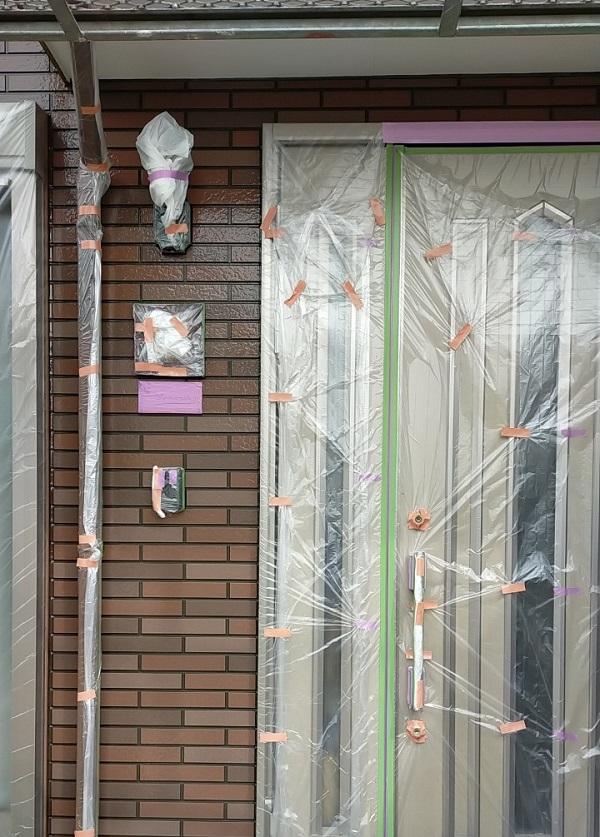 茨城県古河市 Y様邸 外壁塗装・付帯部塗装 外壁クリアー塗装 日本ペイント ピュアライド UVプロテクト 4Fクリヤー (14)