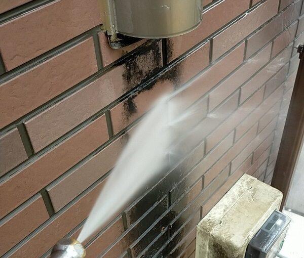 茨城県古河市 Y様邸 外壁塗装・付帯部塗装 下地処理 高圧洗浄 (7)
