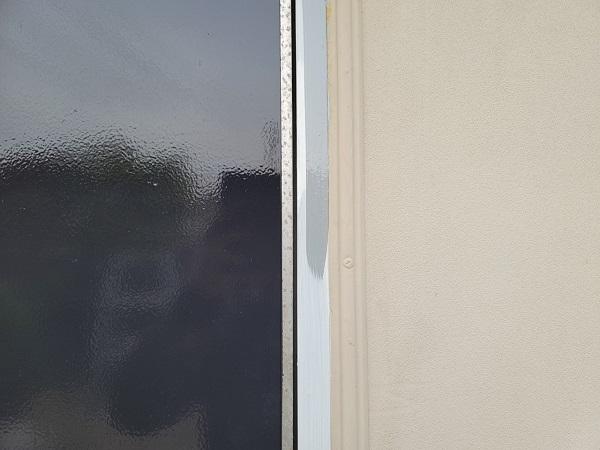 埼玉県北葛飾郡杉戸町 F様邸 屋根塗装・付帯部塗装 玄関ドア、ドア廻り、玄関柱塗装 (6)