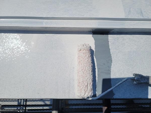 埼玉県北葛飾郡杉戸町 F様邸 屋根塗装・付帯部塗装 日本ペイント ファインパーフェクトベスト (4)