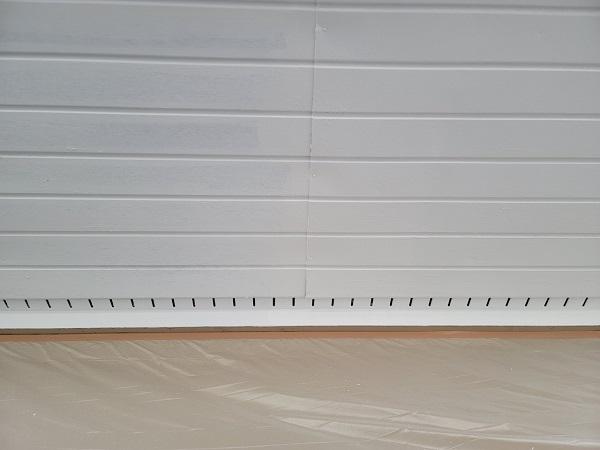 埼玉県北葛飾郡杉戸町 F様邸 屋根塗装・付帯部塗装 軒天塗装 ニッペ ケンエース (1)