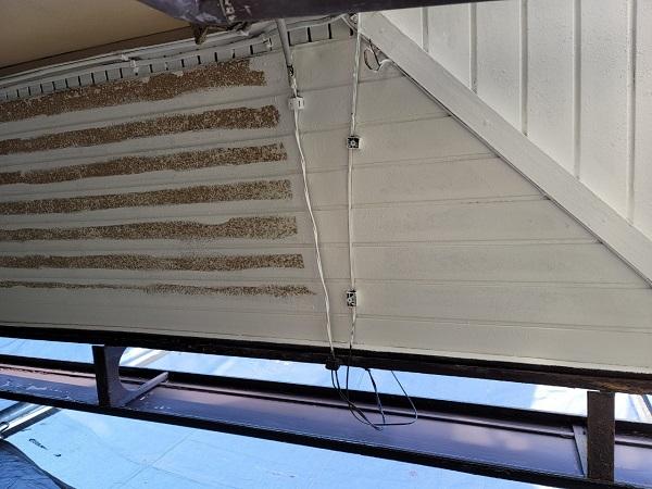 埼玉県北葛飾郡杉戸町 F様邸 屋根塗装・付帯部塗装 軒天塗装 ニッペ ケンエース (3)