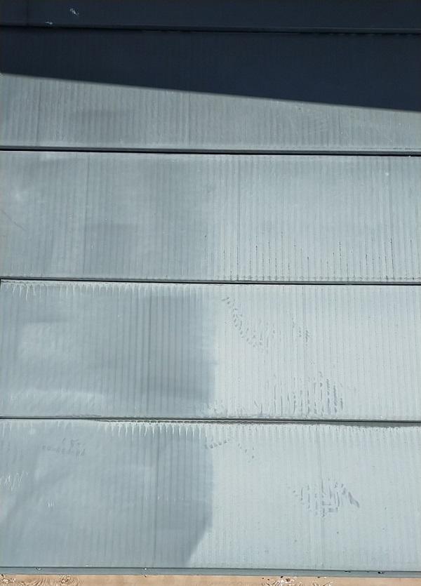 埼玉県白岡市 O様邸 屋根塗装 下地処理 高圧洗浄 (3)
