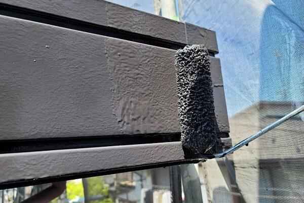 埼玉県北葛飾郡杉戸町 F様邸 屋根塗装・付帯部塗装 破風 (8)
