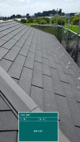 屋根の施工前の画像