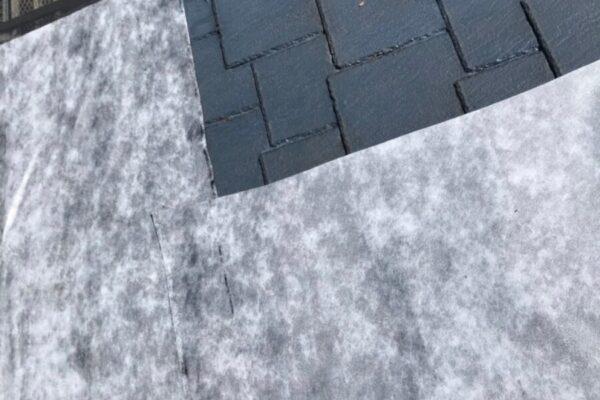 屋根のルーフィングの画像